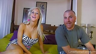 Blonde german babe riding - 27:03