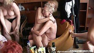 Crazy real homemade hardcore sex with a gangbang - 9:47