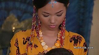 Asian maid licked and fucked - 6:10