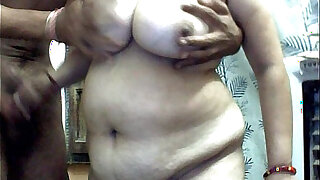 Me and my hubby first time on cam - 2:00