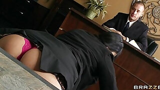 Submissive office assistant Missy Martinez finally fucks boss - 7:00