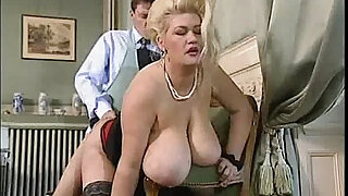Big tit blonde BBW gets good fucking