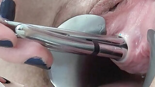 Extreme Anal Fucking Long deep Dildos Ass Creampie Licking Peehole - 1:34