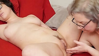 Lesbians Clementine And Vi Fingering Her Twats - 6:00