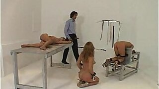 Tied up and dominated pounded for man meat - 1:3:43