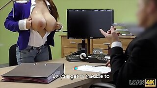Police Woman Fucked For Money - 8:58