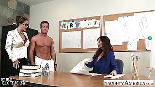 Jenna and Leona Share Naughty Threesomes Together - 8:58