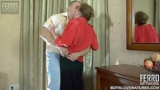 Perv mom forced to help son get puk - 19:44